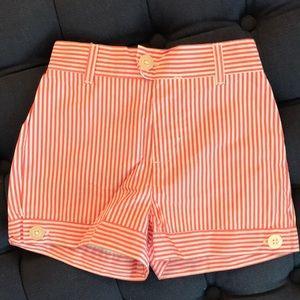 NWOT - Girl's seersucker shorts